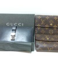 GUCCI/Louis Vuitton 財布
