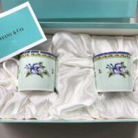Tiffany & Co. ペア デミタス カップ&ソーサー