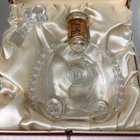 レミーマルタン ルイ13世 バカラボトル空瓶 箱付き